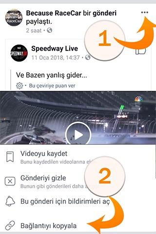 Facebook üzerinden nasıl video indirebilirim?