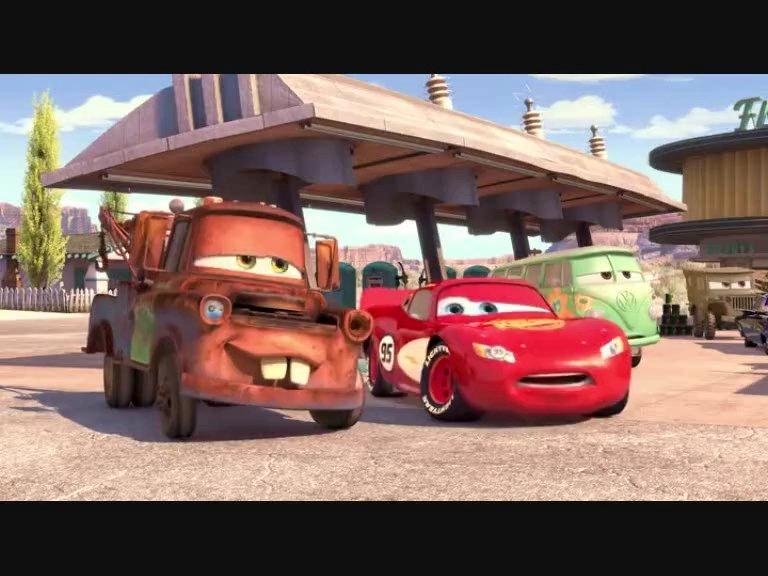 Cars Arabalar Filmi Tokyo Mater Drift Türkçe Dublaj Hq