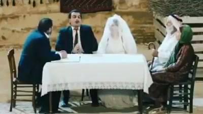 evlilik sahnesi