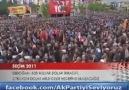 Başbakanımız Denizli'de halka hitap etti.