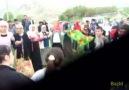 Halil Aksoy Davul Zurna ile karşılandı. HALAY