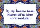 İmam-ı Azam~3 Soru-3 Mükemmel Cevap(Kesin İzle)
