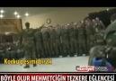 Mehmetçikten Tezkere Marşı !