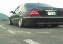 Mercedes-Benz S600 exhaust black
