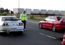 Nissan Skyline R33 GTR &  Mitsubishi Lancer Evo IX!