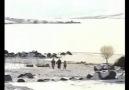 sabrı eşliğinde akçakale köyünde kış manzaraları