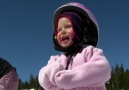 1 Yaşında Snowboard Yapan Kız | Kesinbak.com [HD]