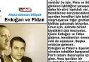 Abdurrahman Dilipak - Erdoğan ve Fidan