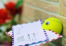 A clever way to use a tennis ball