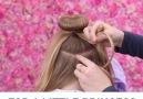 A cute hairstyle for a little princess! via Sweethearts Hair Design.