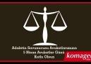 Adaletin Savunucusu Avukatlarımızın 5 Nisan Avukatlar Günü Kutlu Olsun