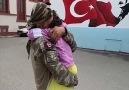 Afrinden Dönen Mehmetçiğin Kızıyla Duygulandıran Buluşma Anı