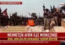 Afrin ilçe merkezinde özel birlikler komando yemini etti