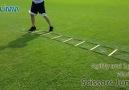 Agility Ladder Drills Scissors Jumps