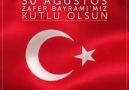 30 Ağustos Zafer Bayramı'mız kutlu olsun.