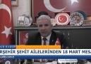 Ahi Televizyonu - KIRŞEHİR ŞEHİT AİLELERİNDEN 18 MART MESAJI Facebook