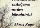 Ahmet Kaya Şarkıları - AHMET KAYA-NERDEN BİLECEKSİNİZ Facebook