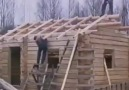 Ahşap ev yapımı..
