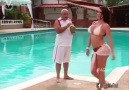 A Italian at the Swimming Pool with Many Women!