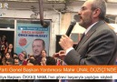 Ak parti genel başkan yardımcısı Mahir Ünal DÜZİÇİ&