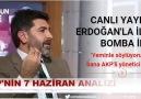 AKP'li Başkan Yardımcısı: 'Erdoğan ülkeyi bölmeye çalışıyor'