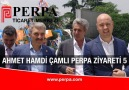 AKP Milletvekili Ahmet Hamdi Çamlı Perpa Ziyareti 05