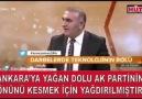 AKPyi istemeyenler doğal afet yapıyormuş