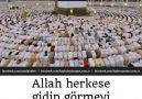 Allah herkese gidip görmeyi nasip etsin