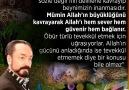 Allah sevgisinin derinleşmesinin yolu... - Türkiye&Koçyiğitleri