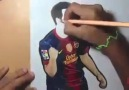 Amazing Art of Lionel Messi !!