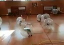 Amazing Bubble Football...................