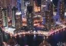 Amazing City Dubai at Night & Video By GoAerials