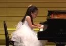 Amazing Little Girl Playing Piano.