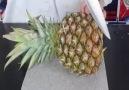 Ananas kesme yolları :)