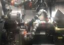 Angular machining with custom jaws and tools