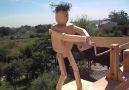 Animated Wood Whirligig