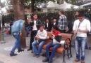 Ankara Sakarya Caddesi Sokak Çalgıcıları Sanatçıları-Akşam Güneşi
