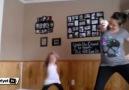 Anne kızın dansı rekor kırdı