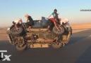 Araç Hareket Halindeyken 2 Tekerleği Söküp Takmak!!!
