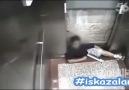 Asansör kazası ...