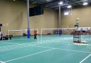 Awesome badminton machine!!