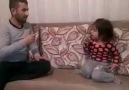 Baba ile kızının komik atışması Efsane.))