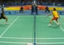 Badminton Net Shot Compilation perfact net drop