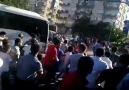 Bakanların otobüsü böyle Kovalandı