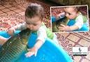 Balığın ve bebeğin keyfine diyecek yok )