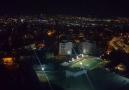 Balkonda yıldırımlı Ankara manzarası eşliğinde çay keyfi )