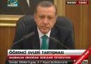 Başbakan Erdoğan'dan Öğrenci Evi Açıklaması