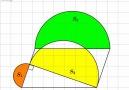 Based on Pythagorean theorem - Magic PI - math animations