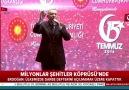 Başkan Erdoğan Ülkemizde darbe defterini açılmamak üzere kapattık
