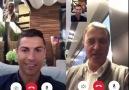 Başkanımız C.Ronaldo ile dertleşirken